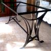 Table Base after Powder Coating
