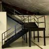 Industrial Staircase - wrought iron rails & steps